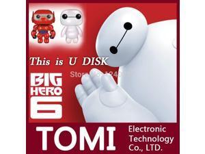 usb flash drive 32g pen drive 32g pendrive 16g 8g 4g style Big hero 6 Baymax mini model Usb2.0 memory