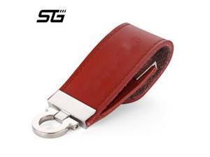 USB 8 GB Leather USB Flash Drive 8gb Pen Drive Pendrive Flash Drive Memory Card usd Stick Thumb Drive usb flash disk on key-in Storage Devices