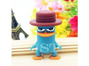lovely animal flat upper beak duck USB flash drive pen drive pendrive 32 GB 16 GB 8 GB USB 2.0 Flash Memory Stick U Disk