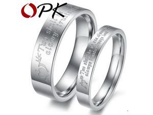 his and hers promise ring sets, Engagement Couple Stainless Steel Rings Lovers,men women0, Wholesale , , 299