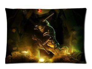 Deus Ex Human Revolution Pillowcases Custom Pillow Case Cushion Cover 20 X 26 Inch Two Sides