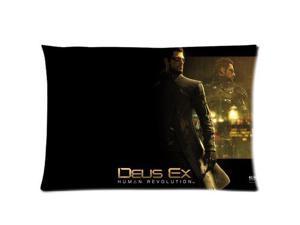 Deus Ex Human Revolution Pillowcases Custom Pillow Case Cushion Cover 18 X 18 Inch Two Sides