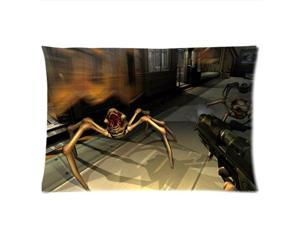 Doom Pillowcases Custom Pillow Case Cushion Cover 18 X 18 Inch Two Sides