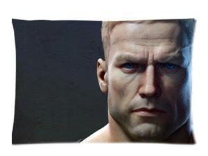 B J Blazkowicz Wolfenstein The New Order Pillowcases Custom Pillow Case Cushion Cover 14 X 20 Inch Two Sides