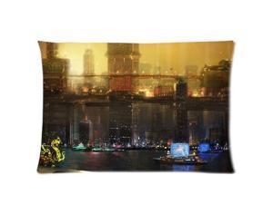 Deus Ex Human Revolution Pillowcases Custom Pillow Case Cushion Cover 20 X 36 Inch Two Sides