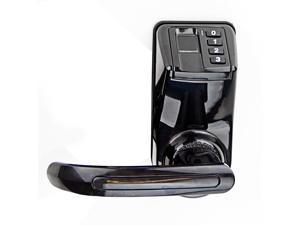 ADEL LS9 Biometric Waterproof Fingerprint Password Door Lock W/ Left&Right Handle Keyless