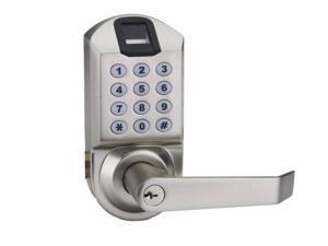 Door Lock Biometric Fingerprint Keyless Keypad Password Access control Scyan X7