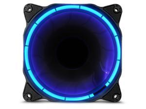 anidees AI Halo Cosmic 120 mm LED Case Fan - Blue