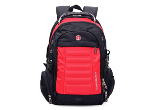 Swissgear 15''shoulder backpack Laptop backpack casual bags-red