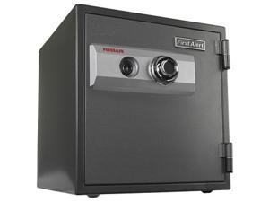 First Alert - 2054F 1 Hour Steel Fire Safe with Combination Lock, 0.80 Cubic Foot, Gray