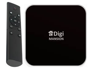 DigiMansion DM-V6+ Android TV Box 4GB RAM 32 GB Flash Memory RK3288 1.8 GHz Cortex A17 Quad Core,  Ultra HD, 4k 60 FPS, Dual Band WIFI 2.4GHz/5.0GHz, Bluetooth 4.0 H.265