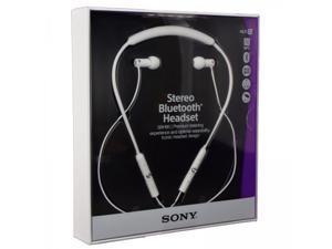 Sony Sbh80 NFC Multipoint Stereo Bluetooth V3 Aptx Headset Splashproof Earphones White