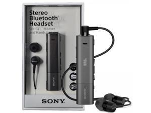 Sony SBH54 NFC A2DP Stereo Bluetooth HD Voice Noise Cancellation Headset FM Handset - Black