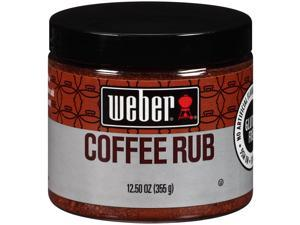 Weber Gourmet Coffee Rub Chili Pepper & Cocoa 12.5 oz. - Rich & Bold Flavor