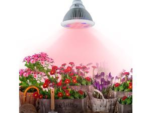 Newest LED Grow Light 24W, Plant Grow Lights E27 Growing Bulbs For Garden Greenhouse and Hydroponic Full Spectrum Growing Lamps