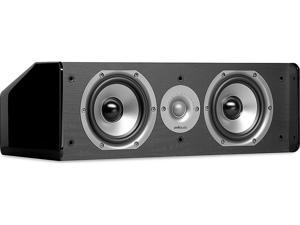 "Polk Audio CS10 Center Channel Speaker with Dual 5-1/4"" Drivers"