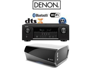 Denon AVR-S720W 7.2 Full 4K Ultra HD AV Receiver + Heos Link Bundle