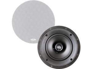 "Martin Logan ML-60i - Installer Series 6-1/2"" 2-Way In-Ceiling/Wall Speakers (Pair) - Paintable White"