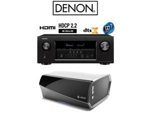 Denon AVR-S920W 7.2 Full 4K Ultra HD AV Receiver + Heos Wireless Link Bundle