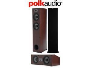 Polk Audio 3-Piece Speaker Bundle with (2) TSx 330T and (1) TSx 250C in Cherry