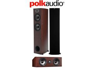 Polk Audio 3-Piece Speaker Bundle with (2) TSx 330T and (1) TSx 150C in Cherry