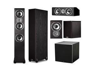 Polk Audio Speaker Bundle with (2) TSi400 (2) TSi100 (1) CS10, and (1) PSW10