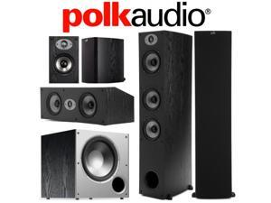 Polk Audio 5-Piece Speaker Bundle with TSx 440T, TSx 110B, TSx 250C, and PSW10