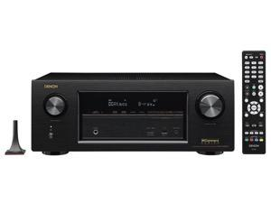 Denon AVR-X3300W 7.2 Channel Full 4K Receiver with Built-In Wi-Fi and Bluetooth