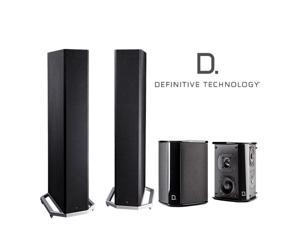 Definitive Technology Speaker Bundle with (2) BP9020 and (2) SR9040