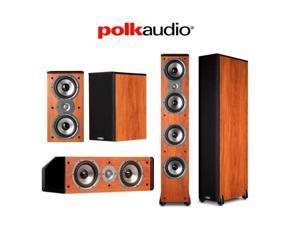 Polk Audio 5.0 Speaker Package (2) TSi500 + (2) TSi200 + (1) CS10 in Cherry