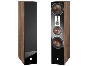 DALI OPTICON 8 3.5-Way Towering Floorstanding Speakers in Light Walnut (Pair)