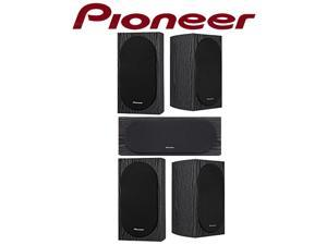 Pioneer SP-C22 Center Channel with (4) SP-BS22-LR Loudspeakers