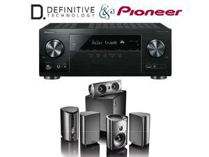 Pioneer VSX-831 Receiver with Definitive Technology ProCinema 1000 System