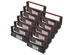 SL 12 pack RED & BLACK Ribbon for Epson ERC-38BR POS Compatible tmu220b tmu220d