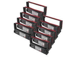 SL 12p RED & BLACK Ribbon for Epson ERC-30BR POS tm-200 tm-260 erc-30 M52-jb M119B
