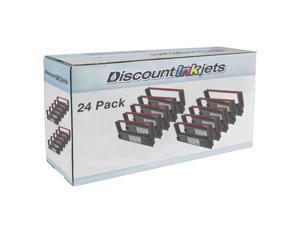 SL 24 pack RED & BLACK Ribbon for Epson ERC-38BR POS Compatible tmu220b tmu220d
