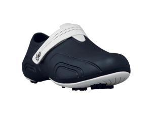 DAWGS Women's Ultralite Golf Shoes NAVY WITH WHITE 11 M US