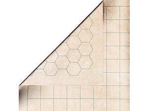 "Chessex Megamat - RPG Reversible Vinyl Mat 34.5"" x 48"" with 1"" Squares/Hexes"