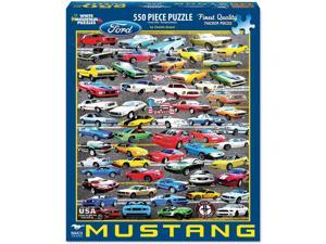 50 Years of Mustangs 550 Piece Puzzle by White Mountain Puzzles