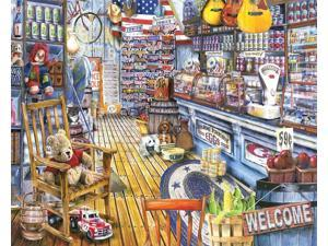 White Mountain Puzzles Jackson General Store - 1000 Piece Jigsaw Puzzle