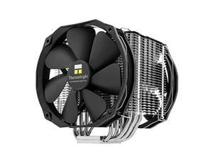 Macho X2, Multiple support bracket system For Intel and AMD platform. The Best C/P CPU Cooler for Overclockers & Gamer ! Proprietary through holes on fins for efficient ventilation. Fanless
