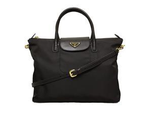 Prada BN2541 Tessuto & Saffiano Tote Bag