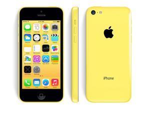 Apple iPhone 5c Yellow 16GB Verizon + GSM Unlocked Smartphone 4G LTE Clean ESN