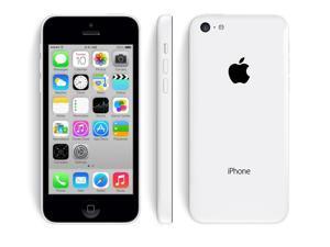 Apple iPhone 5c White 16GB Verizon + GSM Unlocked Smartphone 4G LTE Clean ESN