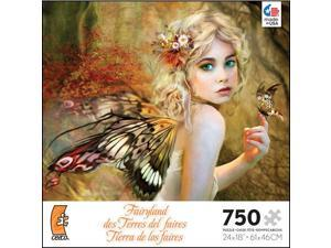 Fairyland Touch of Gold 750 Piece Puzzle by Ceaco