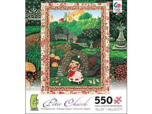 Unwrapping Gift 550 Piece Puzzle by Ceaco