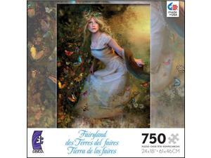 Fairyland Summer Dancer 750 Piece Puzzle by Ceaco