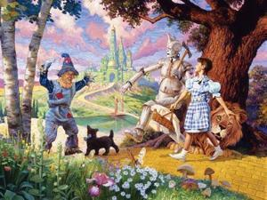 Wizard of Oz 400 Piece Puzzle by Outset Media