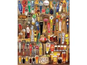 Beer Taps 1000 Piece Puzzle by White Mountain Puzzles