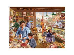 Cake Shop 1000 Piece Puzzle by White Mountain Puzzles